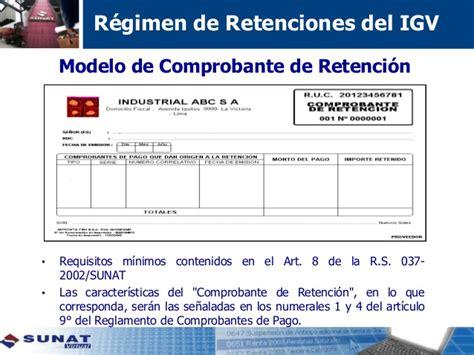 fecha de pago de retenciones de la auh tributaci 243 n empresarial 04 retenciones y percepciones