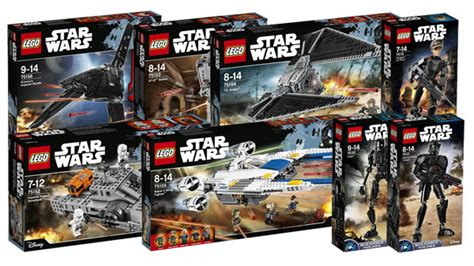 lego star wars 2016 rogue one sets and price list revealed here s a look at lego s force friday deals the brick show