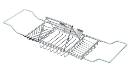 adjustable bathtub caddy bathtub caddy with adjustable reading rack bathtub caddy