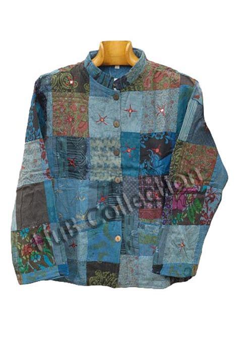 Patchwork L - patchwork lightweight jacket m l hub collection
