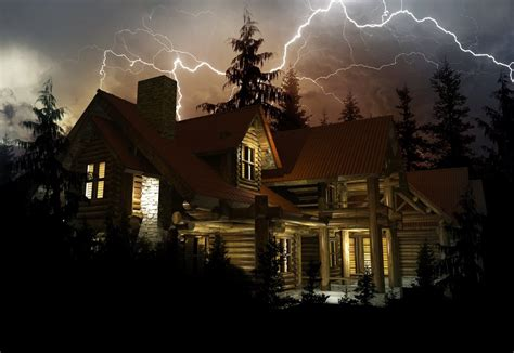 what happens if lightning strikes a house how safe are you indoors during a lightning strike 187 science abc