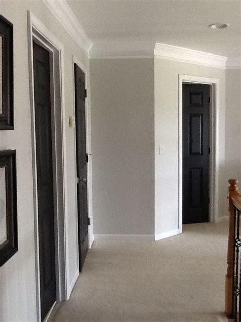 gray walls white trim 66 best black interior doors done images on pinterest