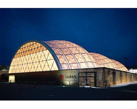 pavillon japan japan pavillion expo 2000 hannover data photos plans