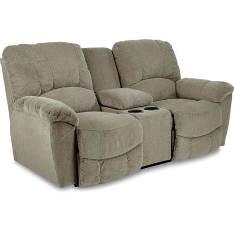 la z boy reclining sofa reviews hayes la z time 174 full reclining loveseat w console