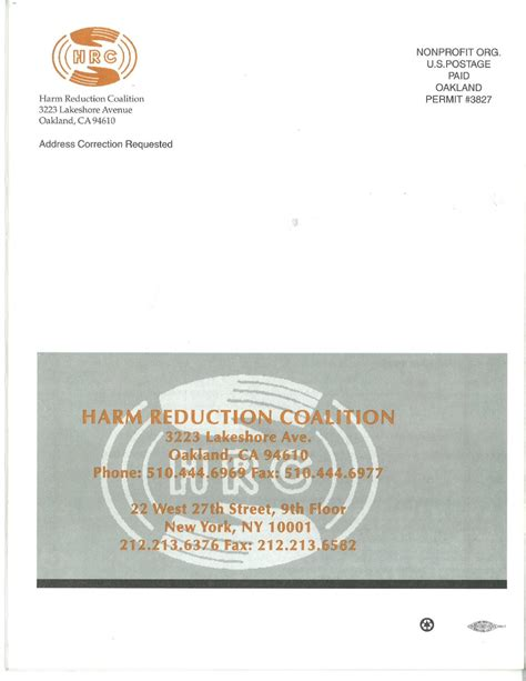 Harm Reduction Is More Successful Than The Suffering In Detox by No 3 Winter 1996 Harm Reduction Communication By Harm