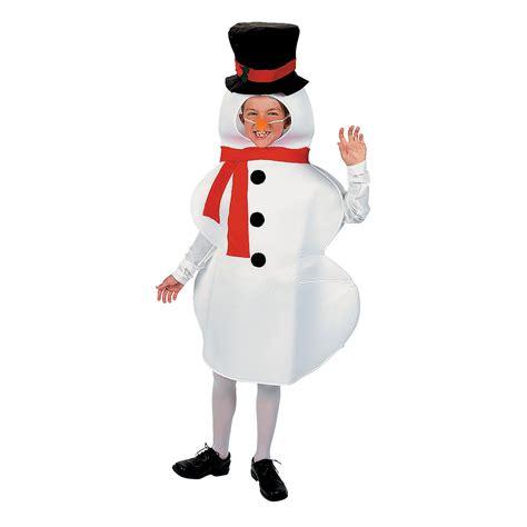child snowman costume oriental trading