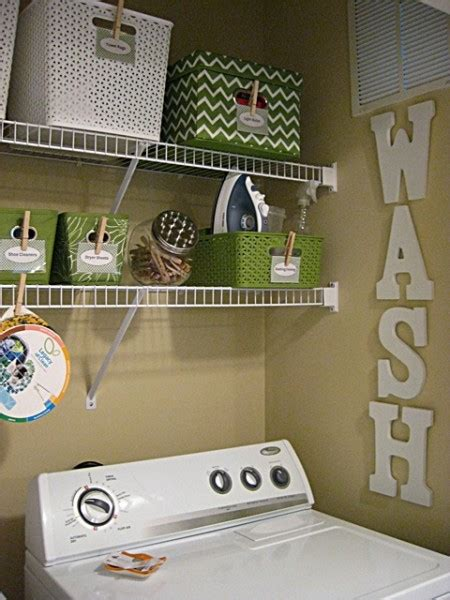 small laundry room closet makeover eat sleep decorate How To Decorate Laundry Room