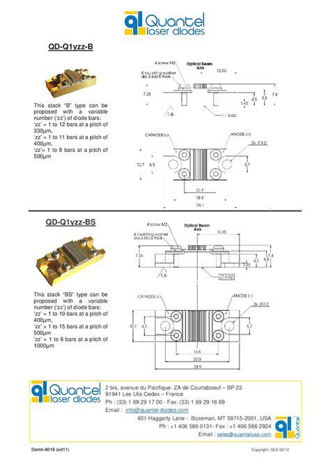 quantel laser diodes quantel laser diodes 28 images infrared laser stack 808nm 500watts stack quantel laser