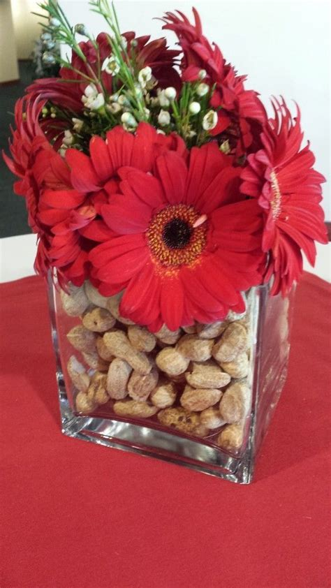 Ideas For Gerbera Flowers Best 25 Baseball Wedding Centerpieces Ideas On Pinterest Baseball Wedding Shower Softball