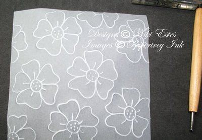 tutorial scrapbook embossing dry embossing with vellum sts stamping scrapbooking