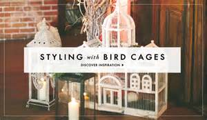 How To Decorate A Birdcage Home Decor by Wedding Decoration Ideas Bird Cage Designs Inside Weddings