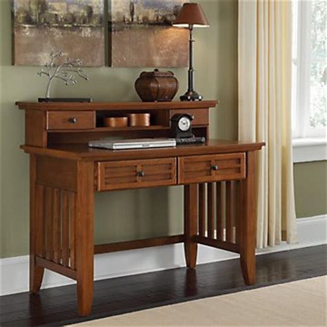 Mission Style Desk With Hutch Mission Style Student Desk With Hutch 42 Office Store