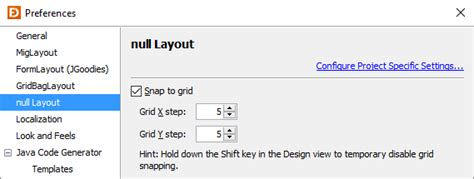 layout java null preferences jformdesigner java swing gui designer