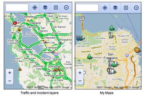 Google Lat Long: Google Maps on your mobile browser
