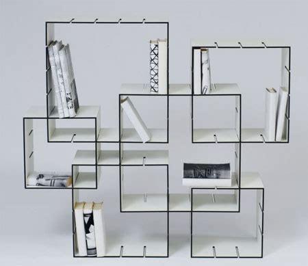 libreria in tedesco konnex la libreria formata da cubi ideare casa