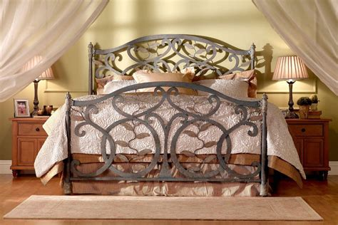 wrought iron king bed wrought iron sleigh bed full bedroom wrought iron indigo