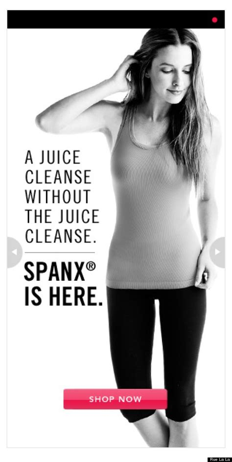 Detox Slogans by Spanx Slogan Confirms That Juice Cleanses Are Diets Photo