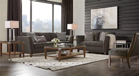 charcoal sofa living room black brown charcoal living room furniture ideas decor