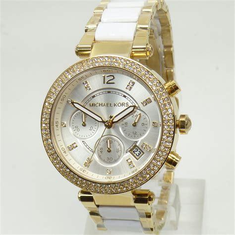 Micheal Kors Uhr by Michael Kors Uhr Uhren Damenuhr Mk6119 Gold Armband
