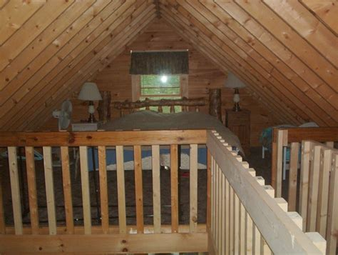 Cabin With Loft by Log Cabin For Rent