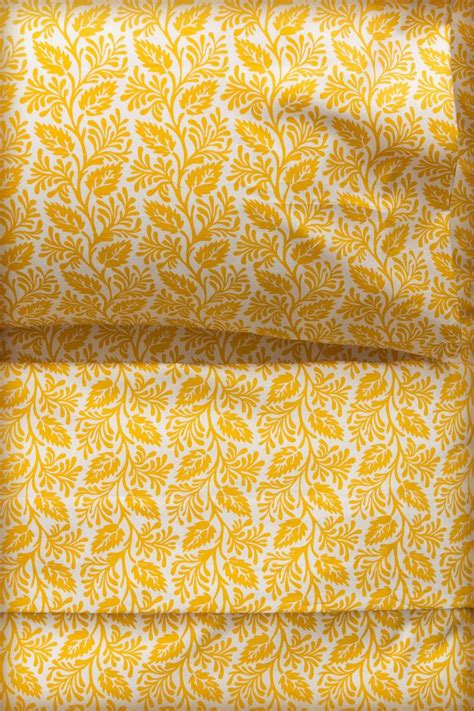 yellow pattern sheet set 80 best images about home bedroom linens sheets on