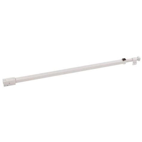 Patio Door Security Bars Security 28 In To 52 In White Patio Door Security Bar 1276 The Home Depot