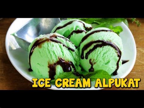 membuat ice cream alpukat cara membuat es krim buah buzzpls com
