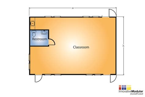 modular classroom floor plans available buildings disaster recovery innovative
