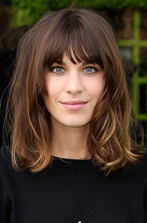 Long Choppy Bob With Fringe | love the fringe and long bob and color hair
