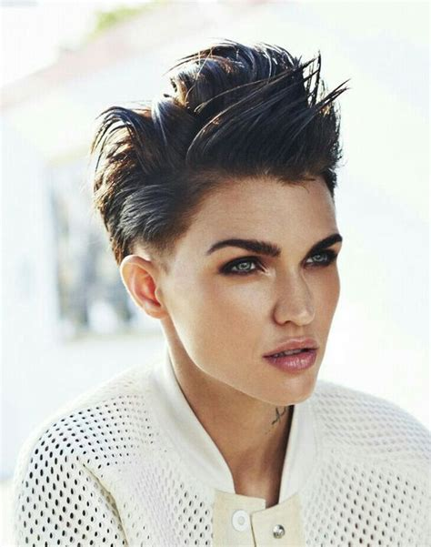 ruby rose before after haircuts pinterest the world s catalog of ideas