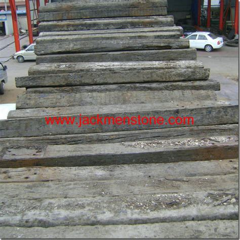 What Wood Is Used For Railway Sleepers by China Used Railway Wood Sleepers China Wood Sleeper