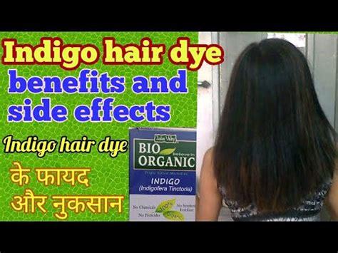 indigo hair dye  fayde aur nuksan indigo hair dye benefits  side effects youtube