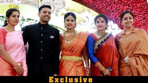 actor jyothika sister photos jyothika suriya karthi sister brindha at hotel savera nina