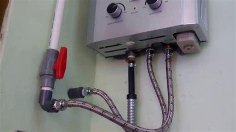 Water Heater Gas Yang Bagus instalasi gas water heater di rumah