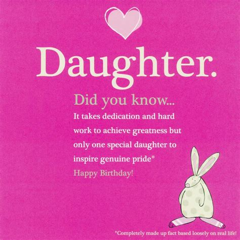Quotes For Daughters Birthday From Quotes From Daughter Happy Birthday Quotesgram
