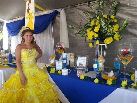 quinceanera themes yellow 10 best images about beauty and the beast quinceanera on