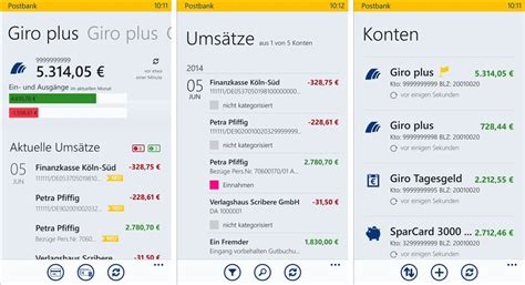 wem geh rt die deutsche bank postbank finanzassistent f 252 r windows phone 8 und windows 8
