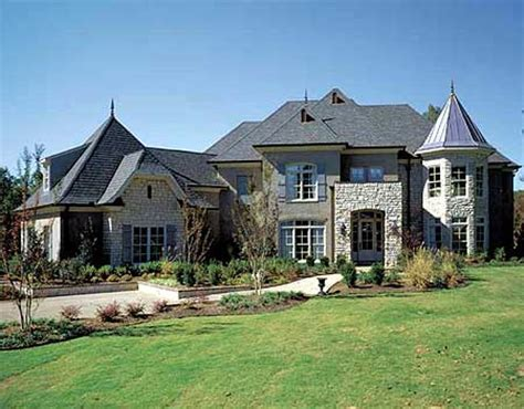 modern french country house plans modern french country estate 5477lk architectural designs house plans