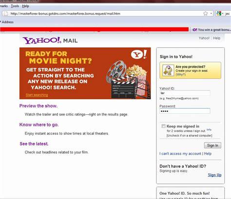 email yahoo phishing it security interesting phishing email knowledge base
