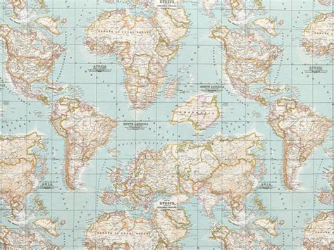 world map upholstery fabric map fabric world map half meter half yard upholstery