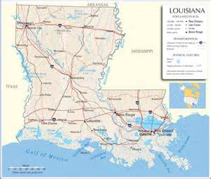map louisiana louisiana map louisiana state map louisiana road map map