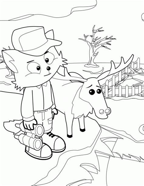 free coloring pages winter wonderland moose coloring page az coloring pages