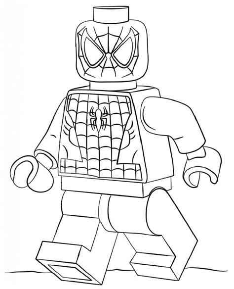 lego spiderman kolorowanka do druku malowanka kolorowanki