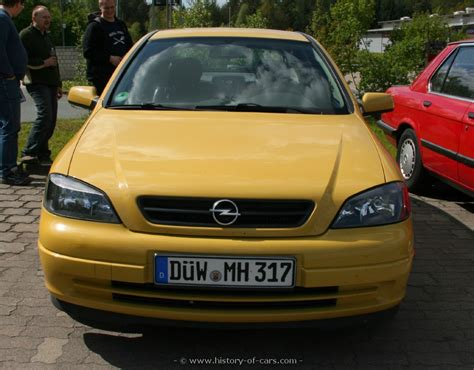opel 2001 astra g 22 16v 4door hatchback the history of