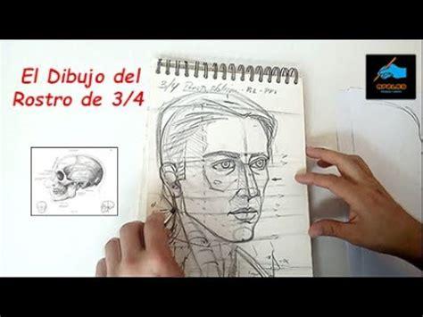 el rostro de un 8496546985 como dibujar el rostro humano de 3 4 youtube