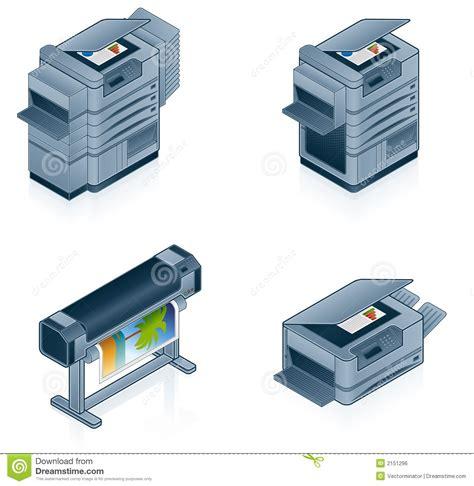 imagenes libres hardware iconos del hardware fijados imagen de archivo libre de