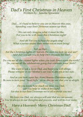 netties stuff   christmas   dad  christmas  heaven heaven poems
