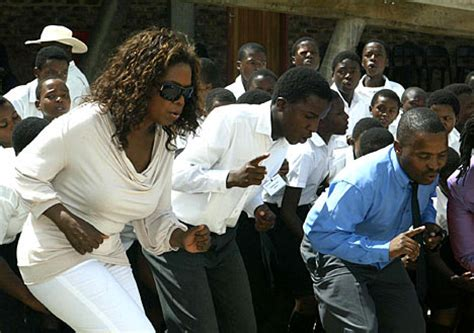Oprah Opens Second School In Africa by Oprah Opens Second South School Daily Mail
