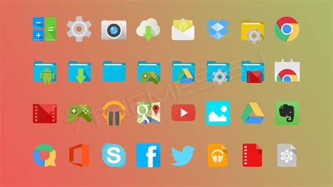Android Kitkat icons | Windows10 Themes I Cleodesktop