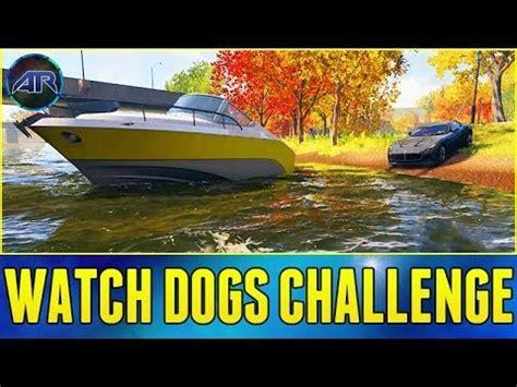 dog vs boat watch dogs online top gear challenge car vs boat race